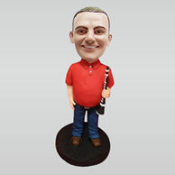 Personalized custom musician bobbleheads