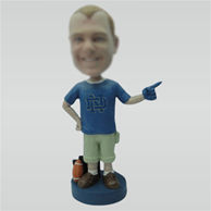 Custom coach bobble head