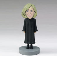 Custom female priest bobbleheads