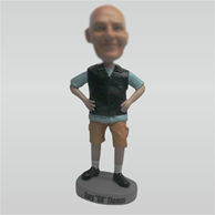 Personalized custom casual bobblehead
