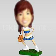 Custom Bobblehead Cheerleader Standing-10852