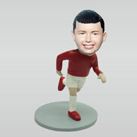 Personalized custom sport boy bobbleheads