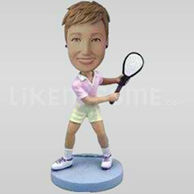 Custom Bobblehead Tennis 6-10856