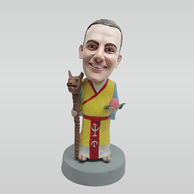 Custom Cartoon characters bobble head
