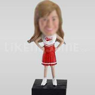 Custom Bobblehead Cheerleader Cheer-10863