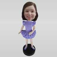 Personalized custom Dancer bobbleheads