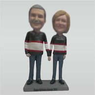 Personalized custom couple bobblehead