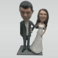Customize wedding bobbleheads