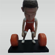 Custom Weightlifter bobbleheads