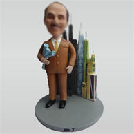 Custom Construction engineer bobbleheads