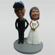Custom funny wedding bobblehead