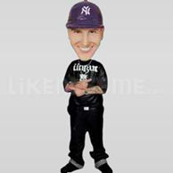 Custom Bobblehead Music Rapper Pointing-10978