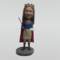 Custom super woman bobble heads
