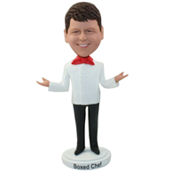 The cook in the hotel custom bobbleheads