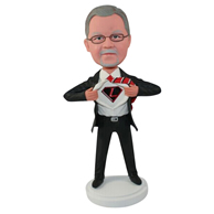The superhero custom bobbleheads