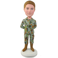 Custom  the soldier bobble heads