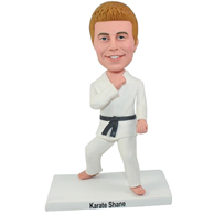 Custom  the martial arts actor bobble heads