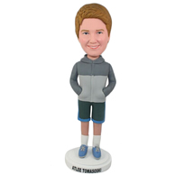 Custom the gray woman bobble heads