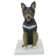 Custom the dog bobble heads
