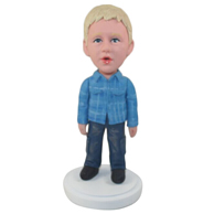 Custom the little boy  bobble heads