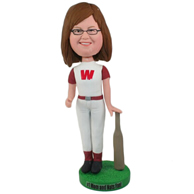 Custom the T-shirt woman  bobbleheads