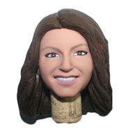 The woman first custom bobbleheads
