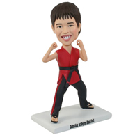 The martial arts actor custom bobbleheads