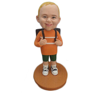 Custom  little boy bobbleheads doll