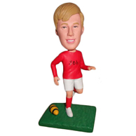 Custom rugby man  bobble heads