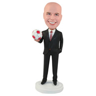 Custom the suit man  bobble heads