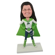 Custom  superwoman bobble heads