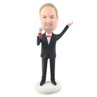 Custom suit man  bobbleheads