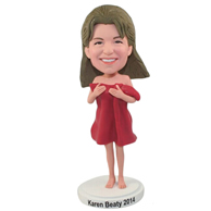 Custom  the sexy woman bobble heads