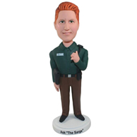 Custom  the policeman bobbleheads