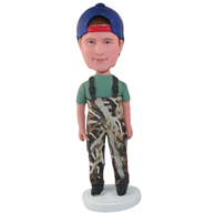 Custom  the overalls man bobble heads