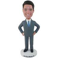 The suit man custom bobbleheads