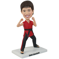 Custom  the martial arts actor bobbleheads