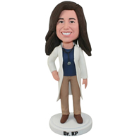 Custom the woman doctor  bobbleheads