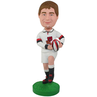 Custom the rugby man bobbleheads