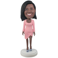 Custom the dressing woman  bobbleheads