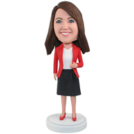 Custom  the red woman bobbleheads