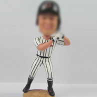 Baseball player bobble head