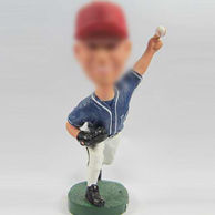Baseball player bobble heads