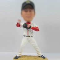 Baseball player bobbleheads