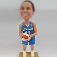Basketball player bobble doll