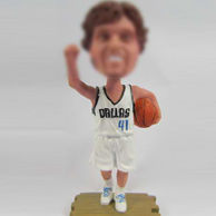 Basketball player bobble dolls
