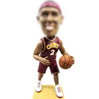 Awesome and Sporting Bobble Head Doll-Playing basketball