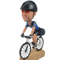 Bicycle bobbleheads