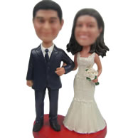 Custom bobble head dolls of Wedding