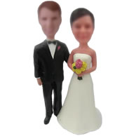 Custom Wedding bobble heads doll